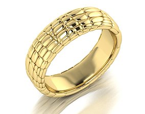 Ring Skin leather 3D print model