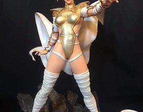 3D printable model Fan Art - Phoenix Force Emma Frost