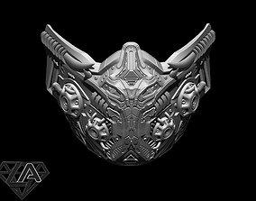 3D printable model SCI-FI Warrior custom mask