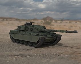 Chieftain British Army Tank 3D asset military-vehicle