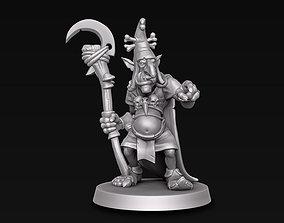 3D printable model goblin Goblin wizard