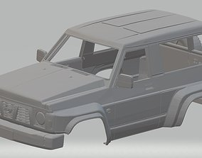 slot Nissan Patrol GR Printable Body Car