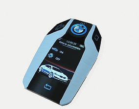 7 Series Display Key touch 3D