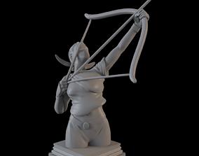 3D printable model Fate Zero Archer Class Chess Piece