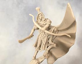 3D print model Wood Elf ranger - 35mm scale tabletop