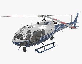 AS-350 LAPD 2 3D asset VR / AR ready
