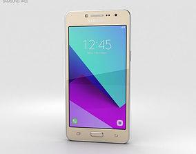 3D Samsung Galaxy J2 Prime Gold