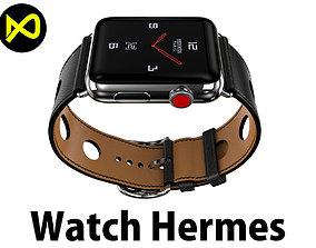 Apple Watch Herms Series 3 3D model