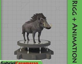 3D model Warthog