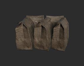 3D model realtime Old Paper Bag