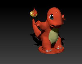 Charmander 3D printable model