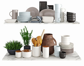 3D Kitchenware and Tableware 13