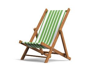 outdoor Beach Chair 3D model