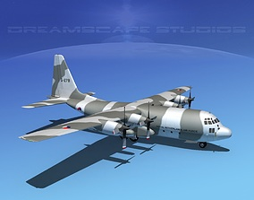 3D model Lockheed C-130 Hercules Netherlands