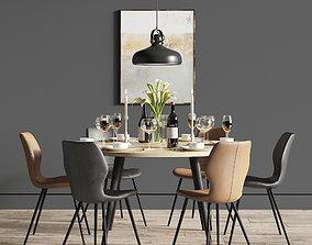 3D Dinning Set 27