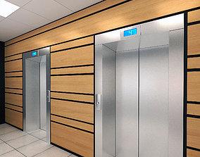 Elevator Set 01 3D model elevator