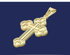 pendants Cross 3D printable model