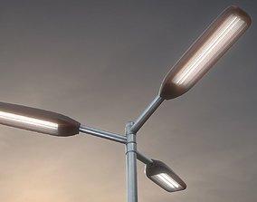 3D model Street-Light 11 Pole-2 Version-5