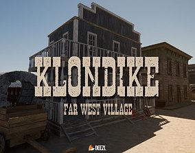 3D model Klondike - Far West Village - All Formats