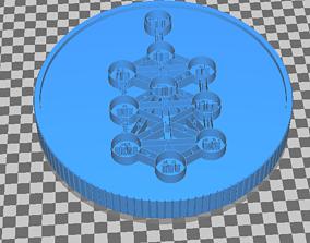 3D print model myth and legend token