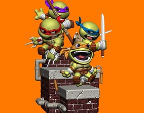 TMNT Pack for 3D Print