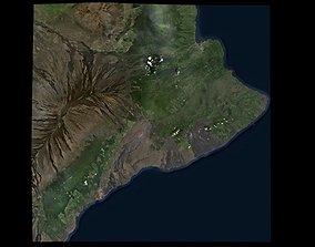 Kilauea Volcano Area 3D model