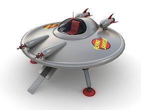 3D model Toy UFO