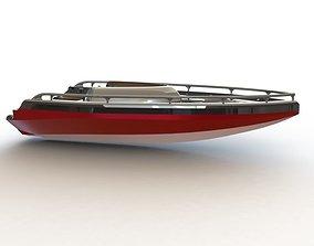 3D model Motorboat - Chloe
