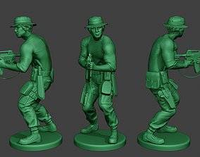 Modern Jungle Soldier Shoot Stand5 MJS1 3D printable model