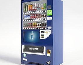 Vending Machine 30 Button 3D model