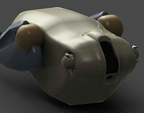 sci-fi Walrus 3D print model