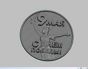 May 9 Victory Day logo 3D print model