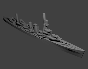 3D print model British Danae-Class Cruiser