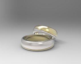 3D printable model Set of 14 wedding bands