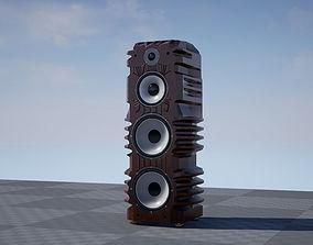 Speaker System 4 3D model