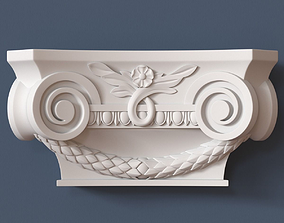 Pilaster Capital 3D wall