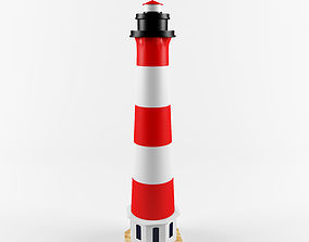 3D asset Copy lighthouse WESTERHEVERSAND Germany