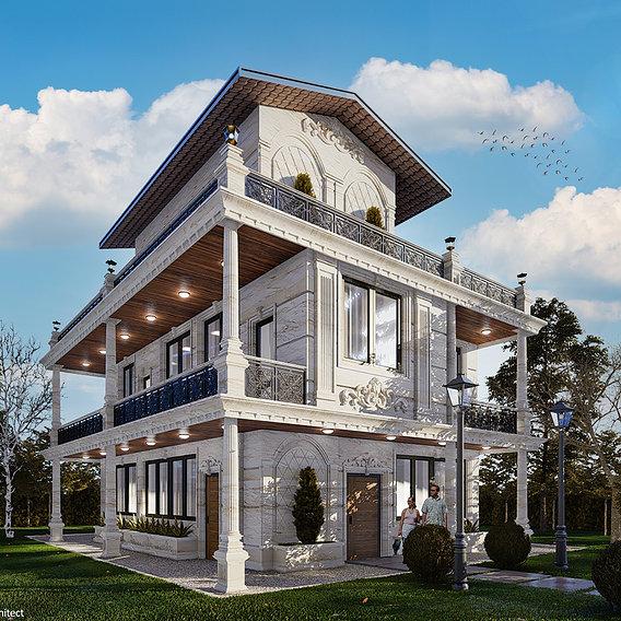 Classic style villa design