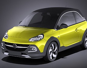 Opel Adam Rocks 2017 VRAY 3D