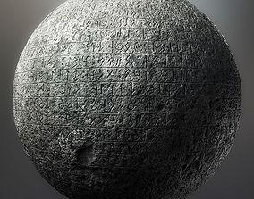 Turkic texts 3D model