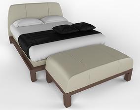 3D model Bed lavinia