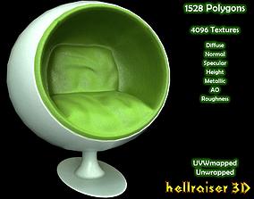 Ball Chair - PBR - Textured 3D model