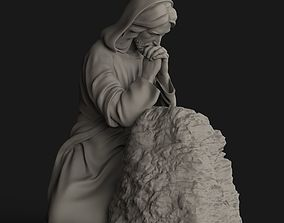 3D print model Jesus Praying