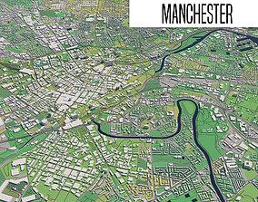manchester 3D model Manchester