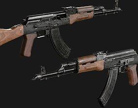 Automatic rifle AKM 3D asset