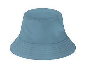 3D asset Bucket Hat