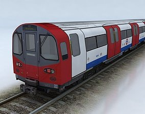 LONDON TUBE STOCK 1995 3D model