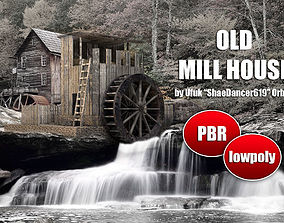 3D asset Old Mill House