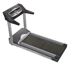 Treadmill Low Poly 3D asset