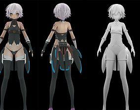 Jack The Ripper Fate Grand Order fanart 3D model